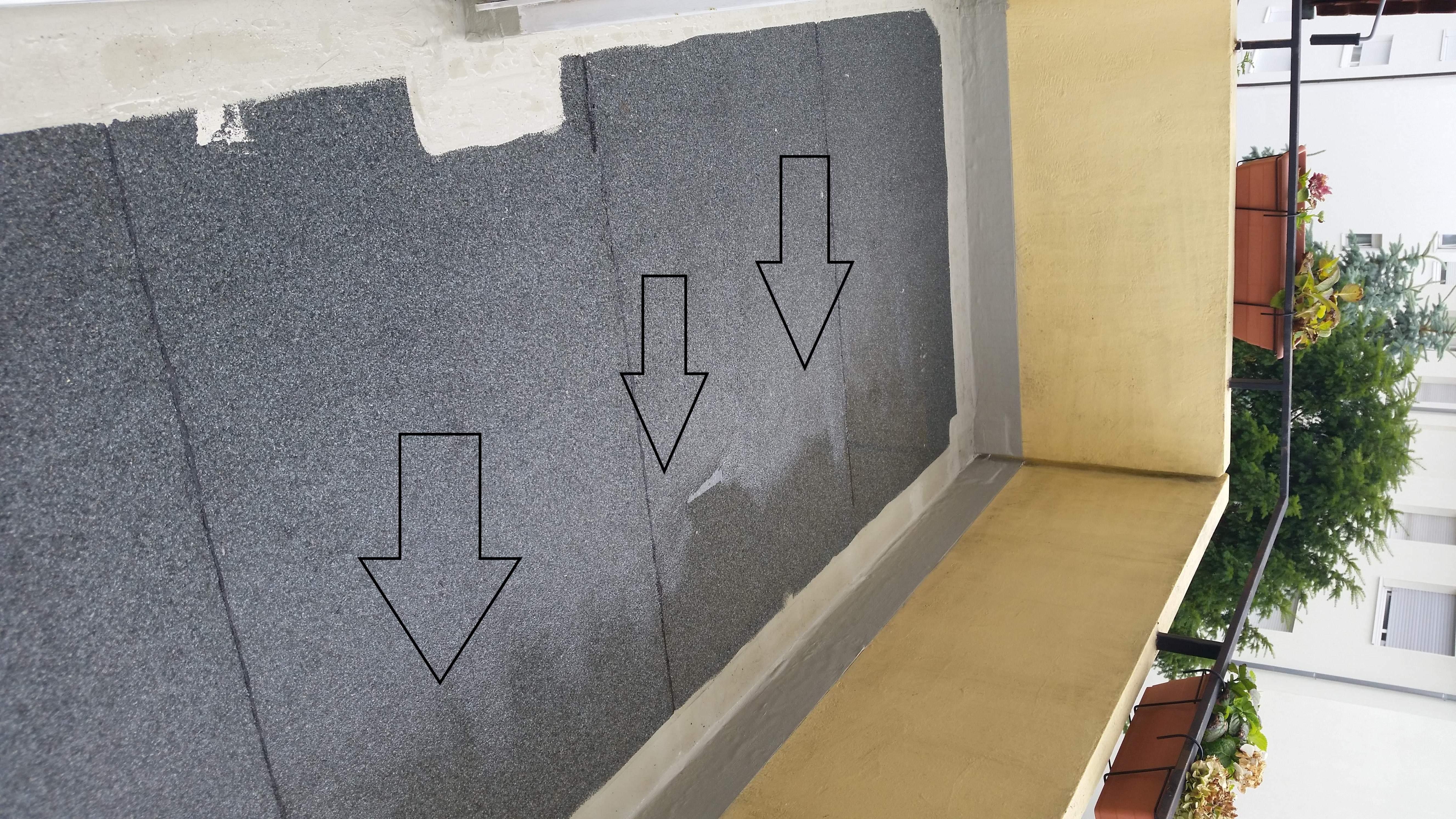 wie den boden auf dem balkon weiter verarbeiten sc wer weiss. Black Bedroom Furniture Sets. Home Design Ideas