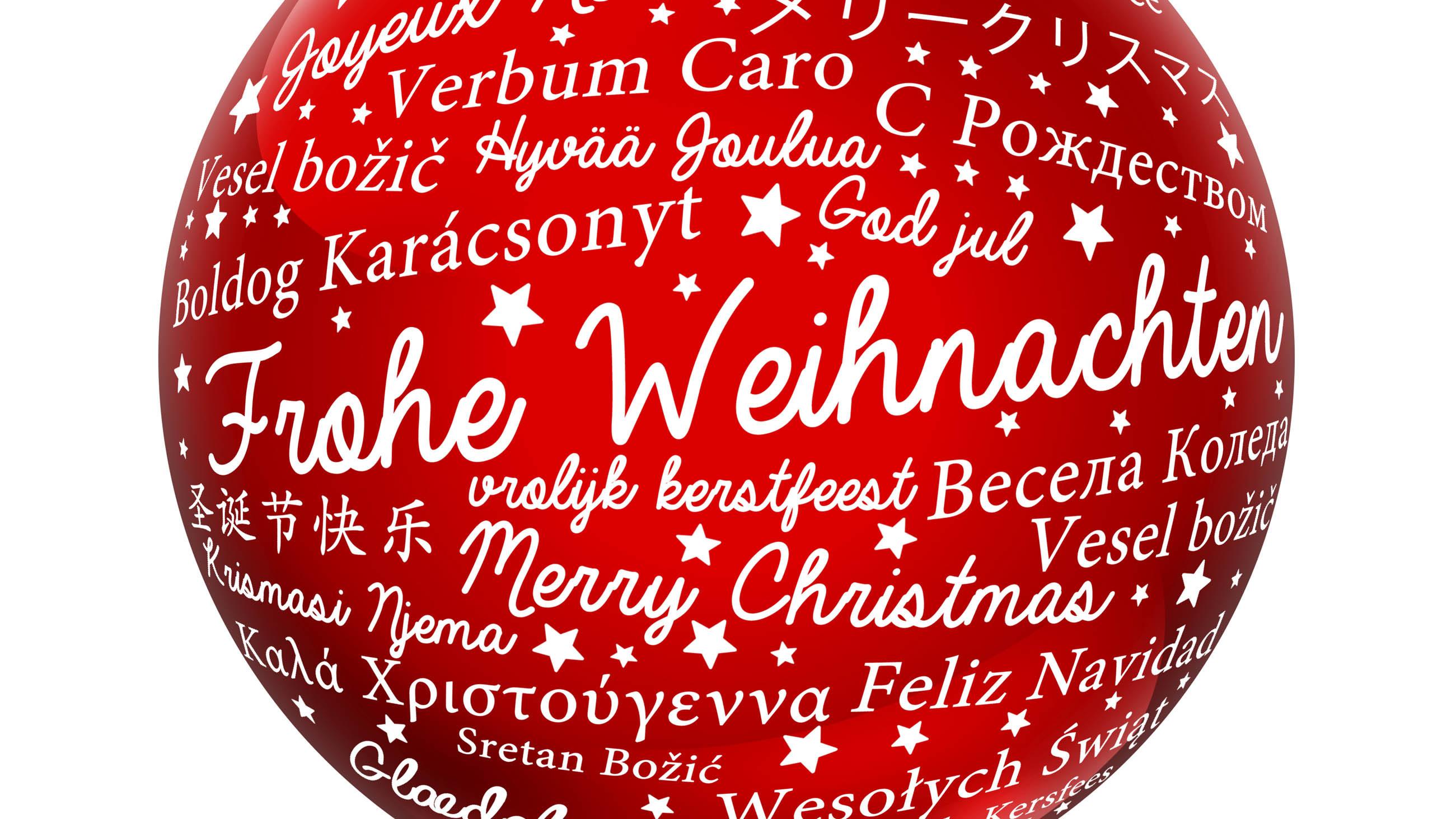Frohe Weihnachten Mazedonisch.Frohe Weihnachten Liebe Welt Wer Weiss Was De