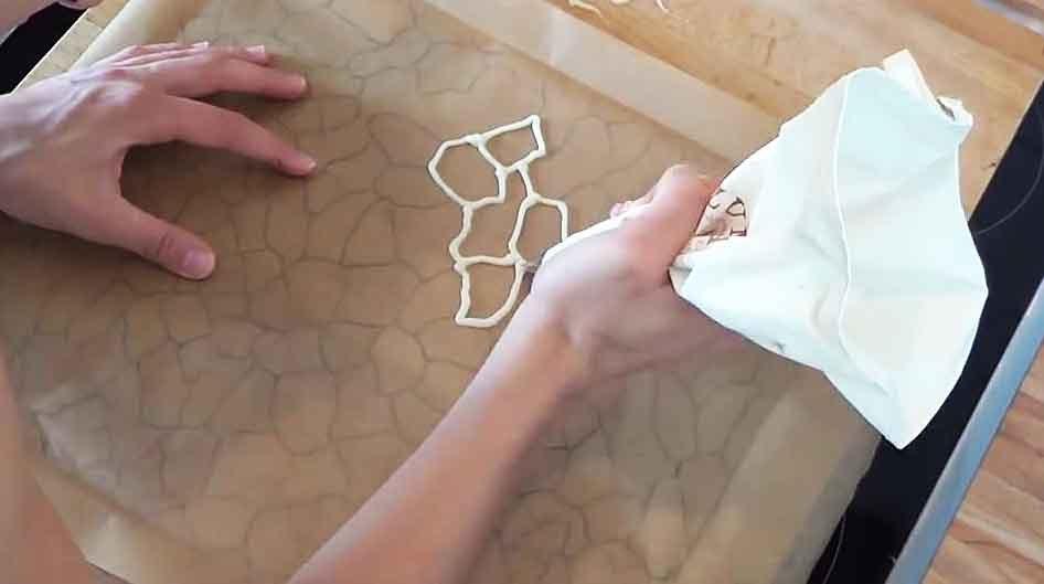 Giraffenkuchen-Muster-zeichnen