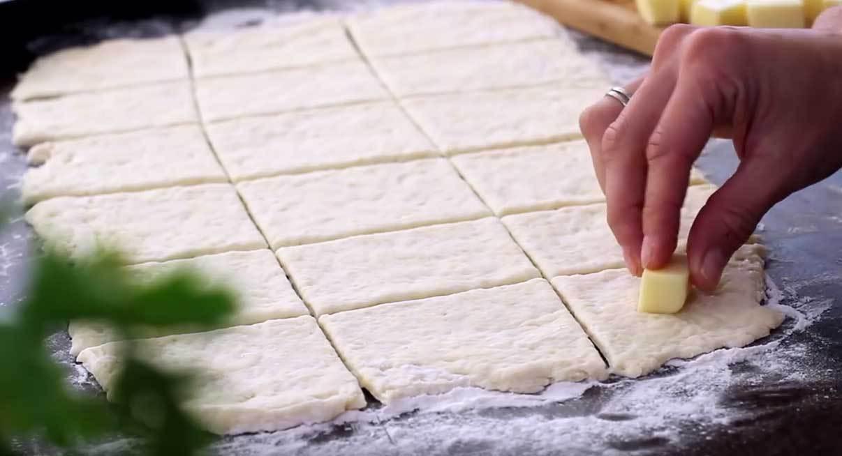 Mozzarella-verteilen