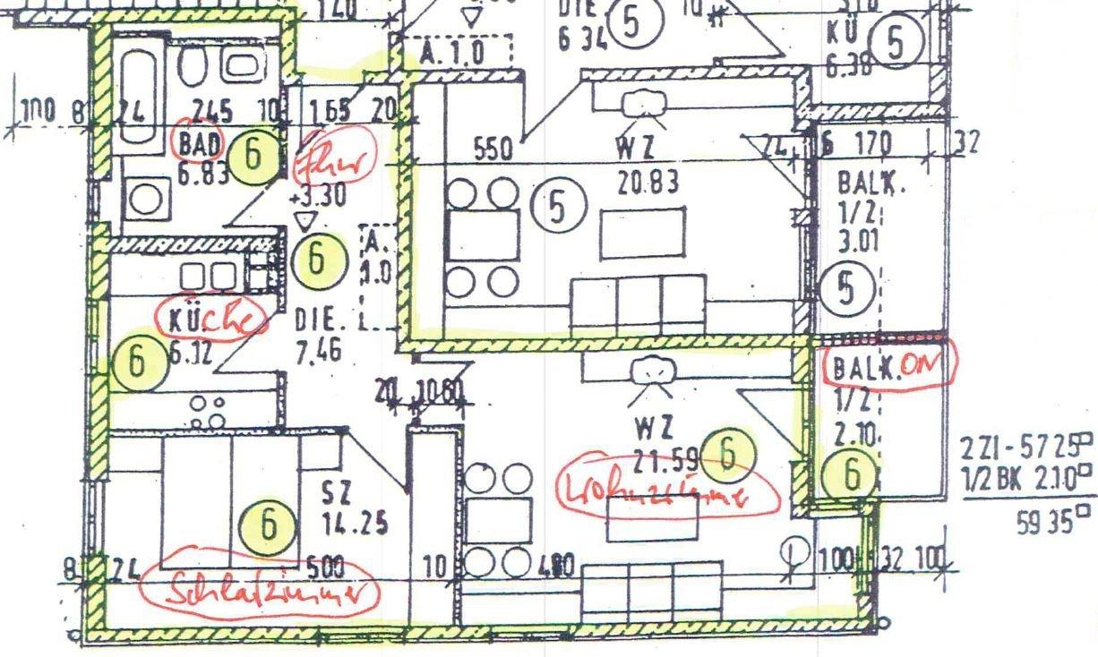 fl chenberechnung im grundriss ist unklar wer weiss. Black Bedroom Furniture Sets. Home Design Ideas