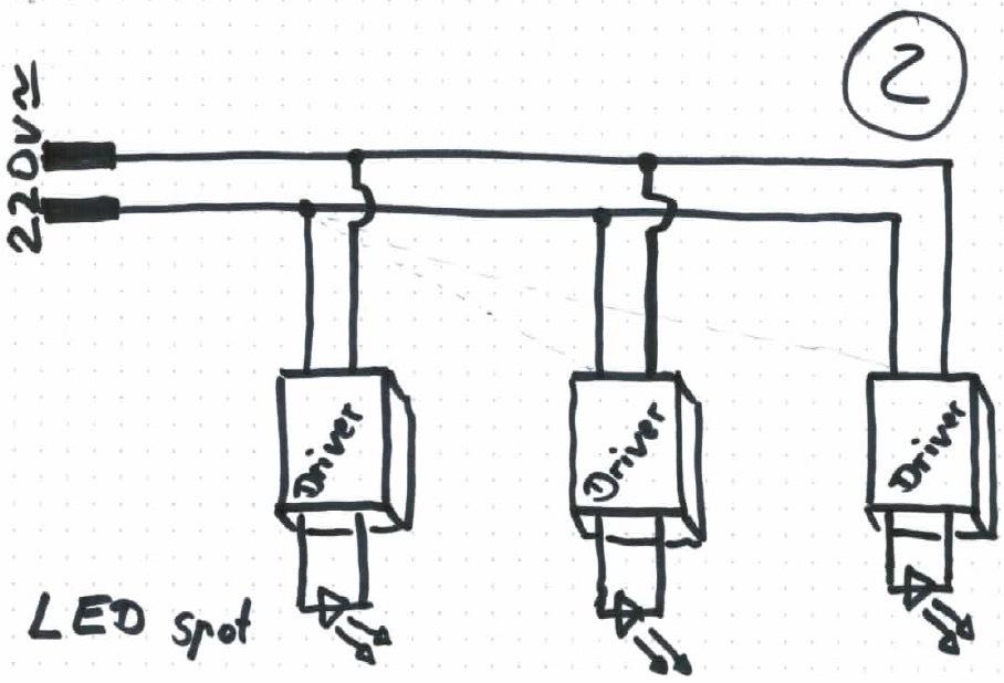 Ausgezeichnet Wie Led Strahler Zu Verdrahten Ideen - Elektrische ...