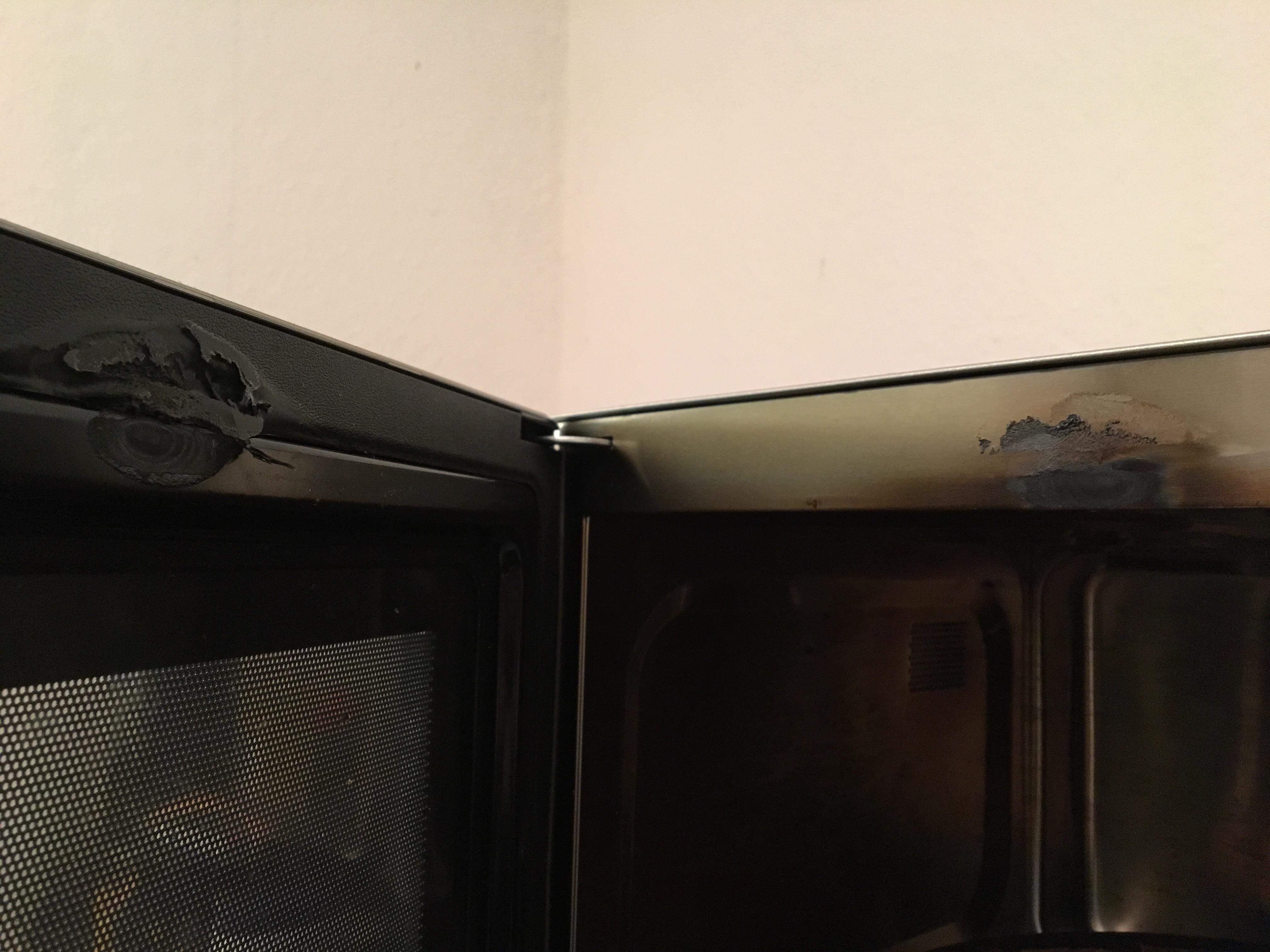 was ist mit diesem microwellen ofen passiert wer weiss. Black Bedroom Furniture Sets. Home Design Ideas