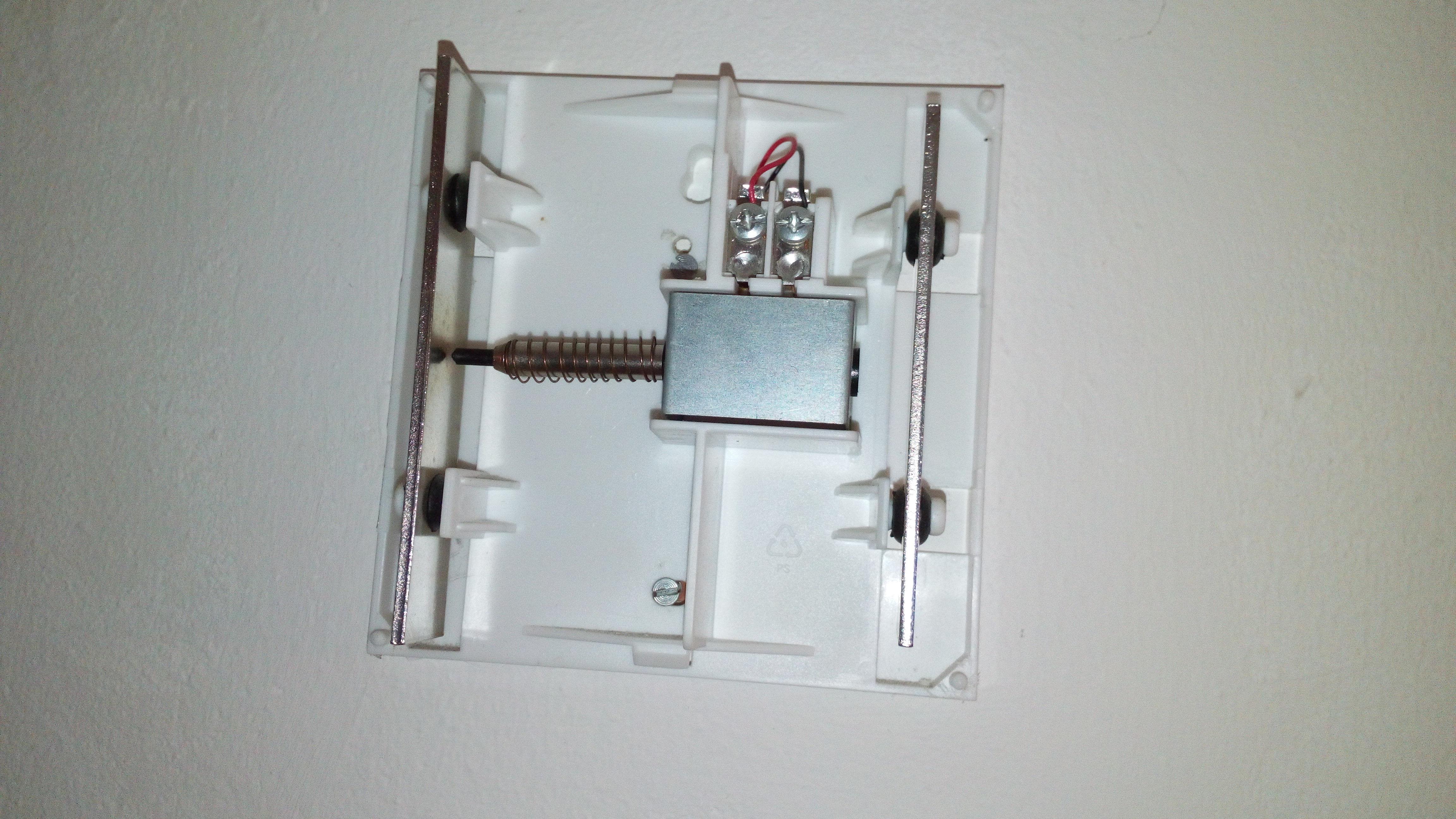 klingel anschlie en 2 kabel swalif. Black Bedroom Furniture Sets. Home Design Ideas