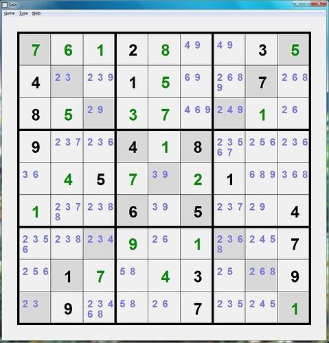 SudokuX#1