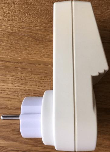 Wochentags-Schaltuhr WT-370D - Seitenansicht