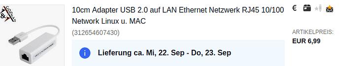 USB-LAN-Adapter