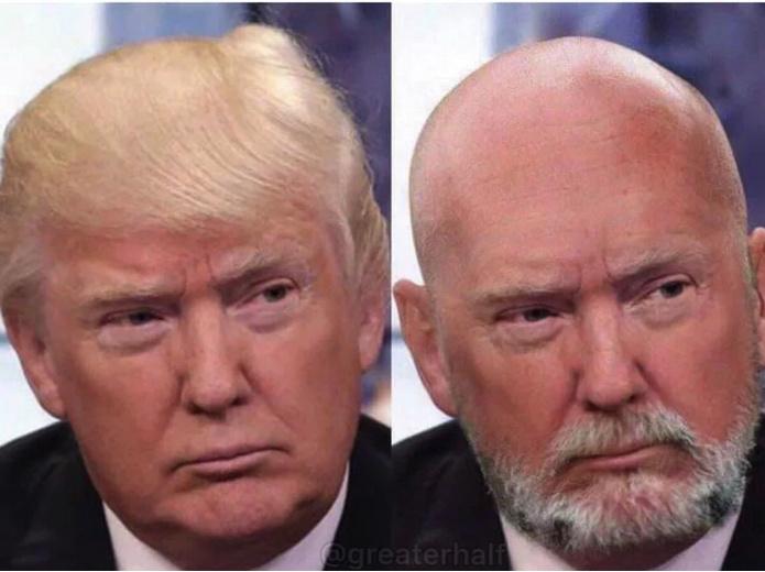 Bart mode mit glatze Glatze tragen: