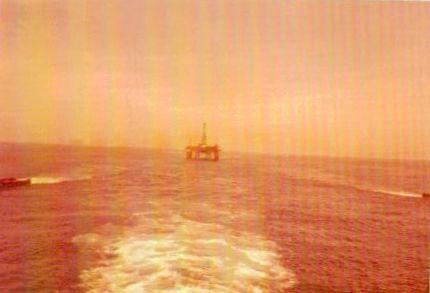 1976 Sedco 702 im Schlepp vor Bahia 2