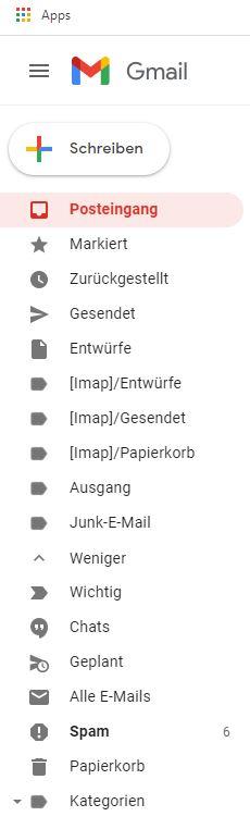 Gmail-Kontakte.