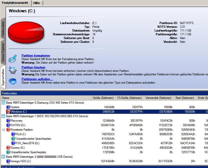 Dateisystem_ungueltig